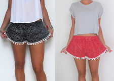Fashion Women Lady's Sexy Hot Pants Summer Casual Short waist denim shorts denim
