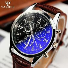 New listing Yazole Men watch Luxury Brand Watches Quartz Fashion Leather belt...