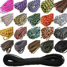 30M 550 Paracord Parachute Cord Lanyard Mil Spec Type III 7 Strand Core100FT B8
