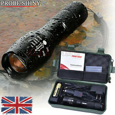 Bright 5000LM G700 X800 Shadowhawk CREE T6 LED Flashlight Torch Lamp Light Kit