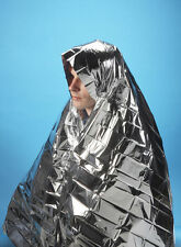 FOIL SPACE BLANKET EMERGENCY SURVIVAL BLANKET THERMAL RESCUE FIRST AID