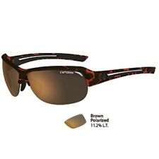 Tifosi Mira Tortoise Polarized Single Lens Sunglasses - Brown Polarized