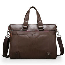 Men's Quality Real Leather Bags Tote Messenger Laptop Business Briefcase Handbag