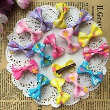 10pcs=5pair Dogs handmade Hairpins Pet Bow Tie Hair Clips Puppy cat DOGS Bowknot