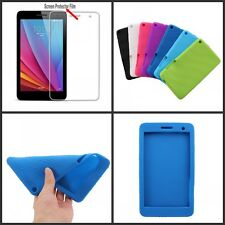 """Silicone Soft Case Cover  For 7.0"""" Huawei Honor BGO-DL09 Tablet PC + Screen Film"""