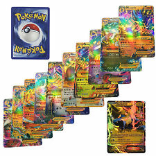 Random Pokemon Cards + Pokemon Album Book Kid Trading Card Game Collection Gift