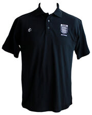 Black FAMOA Embroidered Referee Polo Shirt - 200g Easy Care Poly/Cotton