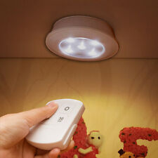 LED Night Light Remote Control 2.4G USB Rechargeable / Battery Powered Wall Lamp