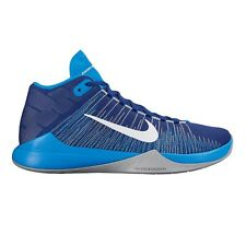Nike Zoom Ascention MEN'S BASKETBALL SHOES, BLUE/NAVY-Size US 11, 11.5, 12 Or 13