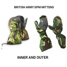 BRITISH ARMY - EXTREME COLD WEATHER - DPM OUTER AND INNER GORETEX MITTENS