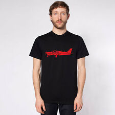 "KillerBeeMoto: Limited Release Piper PA-28 Cherokee Airplane ""Arrow"" T-Shirt"