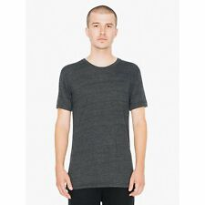 American Apparel Tri Blend T Shirt TR401 Vintage Style Track Tee Shirt 7 Colors