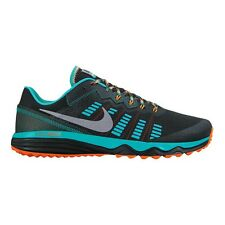 Nike Dual Fusion Trail-2 MEN'S RUNNING SHOES,BLACK/SILVER-Size US 11.5, 12 Or 13