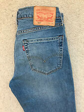 LEVIS 511 SLIM FIT DENIM JEANS! MENS W32/L34! BLUE! STRAIGHT! SKINNY!
