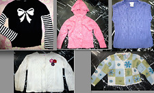 GYMBOREE TALBOTS Kid Girls CABLE KNIT Hooded CHEROKEE CARDIGAN Sweater VEST 4T 4