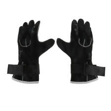 3mm Neoprene Diving Scuba Spearfishing Snorkeling Wetsuit Gloves Black