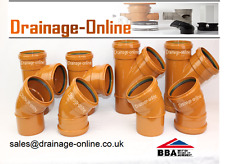 110mm Underground Drainage Fittings