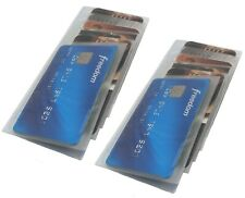 Set of 2 Vinyl Wallet Insert Replacement Picture Card Holder 6 Style with 6 Page