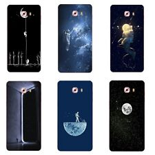 Case For Samsung Galaxy C9 Pro C9000 Soft TPU Silicone Skin Back Cover Moonwalk