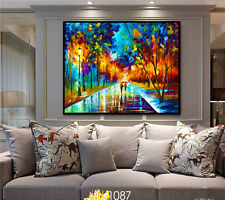HD Print on Canvas Painting Home Decoration Wall Art Night light Scenery 60x75cm