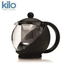 Kilo Glass Teapot Tea Pot with Infuser, 2 Cup or 4 cup