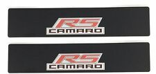 2010-2015 5th Gen Camaro Sunvisor Warning Label Cover with  Camaro RS PM029