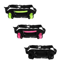 Unisex Waist Belt Bum Bag Running Jogging Marathon Travel Water Bottle Pouch