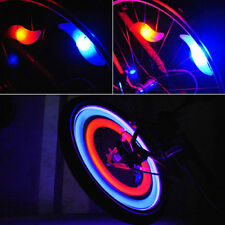SAFETY BIKE BICYCLE CYCLING CAR WHEEL TIRE TYRE LED SPOKE LIGHT LAMP COMELY