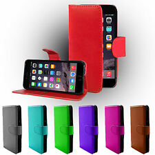 Leather Pu Wallet Flip Stand Holder Case Cover For Various Apple iPhone Models
