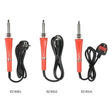 30W Electric Soldering Iron Tips Tool Kit For Pyrography Wood Flipping Word T7T2