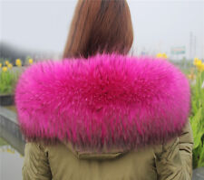 Vintage Spring Fit Scarf Women's Fur Collar Fur Scarf Real Fur Down Coat Collars