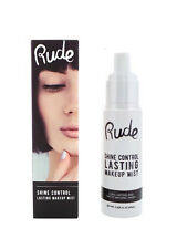 Rude Face Makeup Spray Mist Radiant Glowing / Shine Control Matte