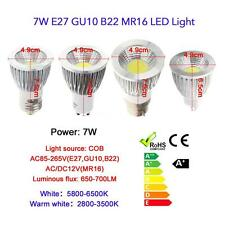 GU10 9W COB LED Spot Light Lamp Bulb High Power Energy Saving 85-265V US A6M9