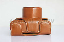 New Black Leather Camera Hard Case Bag Cover For Fujifilm Fuji X10 X20 Finepix