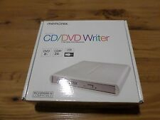 Memorex Slim External CD/DVD Writer