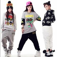 HIPHOP Mens Womens Casual Harem Baggy Dance Sport Sweat Pants Trousers Slacks