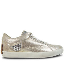 Wittner Ladies Shoes Metallic Leather Flats