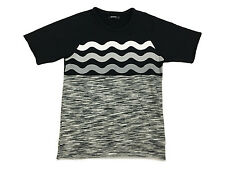 Pink Dolphin Marble Weave Gray Crewneck