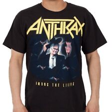 Anthrax: Among The Living T-Shirt   New  Official  Free Shipping