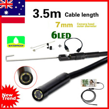 3.5M Waterproof Android Endoscope Borescope Snake Inspection Video Camera 7mm OO