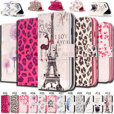 For Apple iPhone Practical Wallet Case Patterned PU Leather 9 Card slot Cover