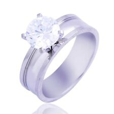 Fashion Womens CZ Ring engagement wedding Ring Gold Filled Jewelry Size7,8,9,10