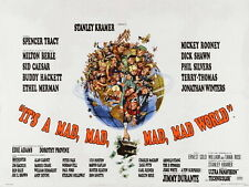 It's a Mad Mad Mad Mad World 1963 Movie Retro HUGE GIANT PRINT POSTER