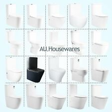 Toilet Suite Full Ceramic Back to wall P/S TRAP Soft Close Seat WELS WATERMARK