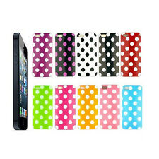 Mobile phone Case Polka Dot TPU Gel Silicone Skin Cover For iPhone 5 5S