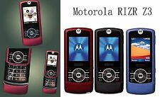 Motorola RIZR Z3 Quadband GSM Slider Cell Phone Camera Bluetooth MP3 Ringtones