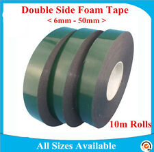 Strong Double Sided Permanent Self Adhesive Foam Car Trim Body Tape UK STOCK