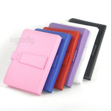 """HOT Micro USB Keyboard Stand PU Leather Case Cover for 8"""" 9"""" inch Android Tablet"""