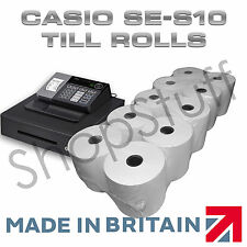 TILL ROLLS TO FIT Casio SE-S10 SES10 SE S10 Cash Register Casio SES10 Till Rolls