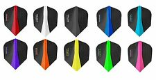 Harrows Retina 100 Micron Dart Flights - Choose colour & number of sets !